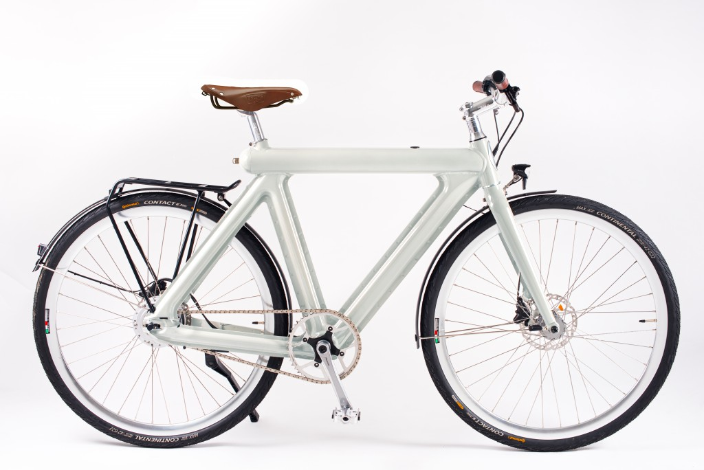 Pressed E-Bike single speed city_lightgrey brooks edition Kopie